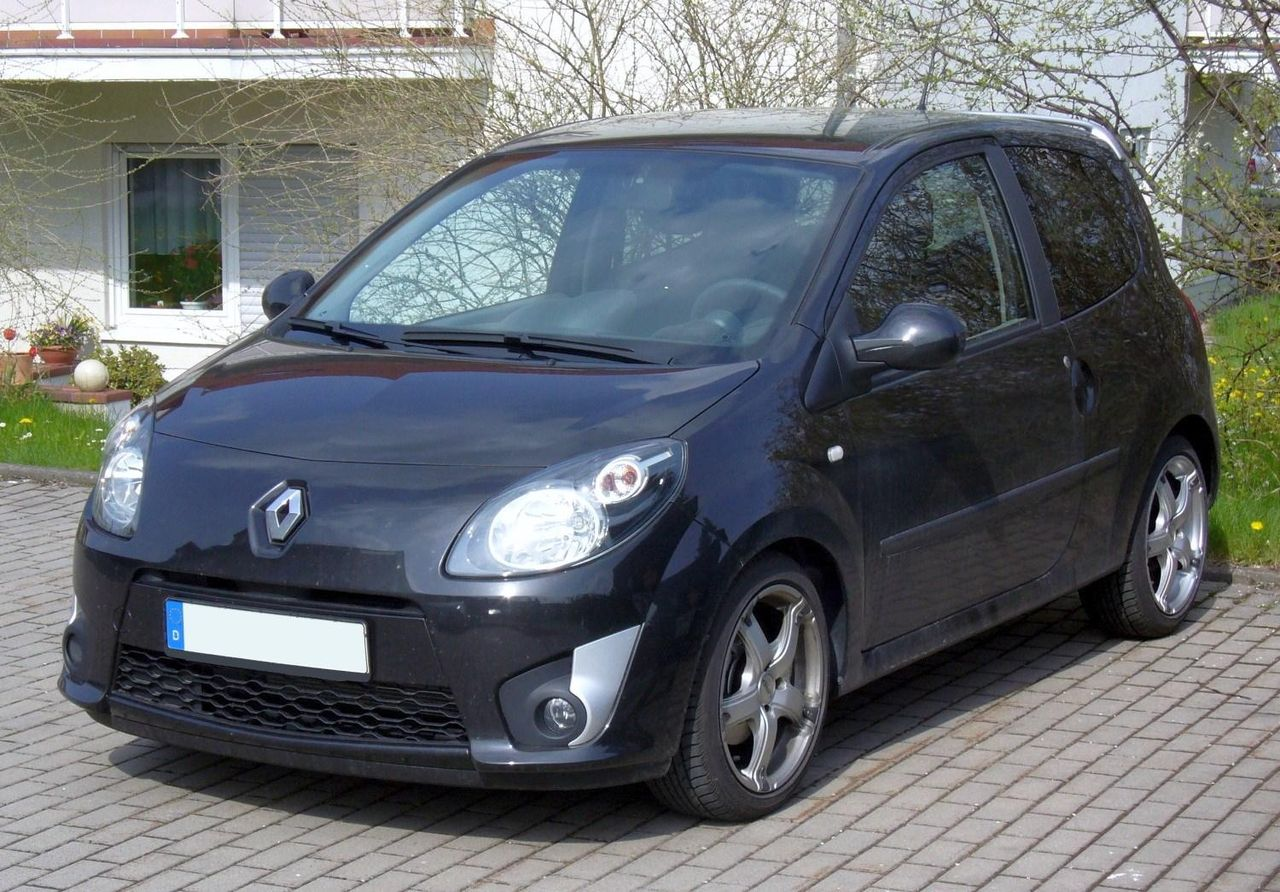 file renault twingo ii phase i perlmuttschwarz jpg wikimedia commons. Black Bedroom Furniture Sets. Home Design Ideas