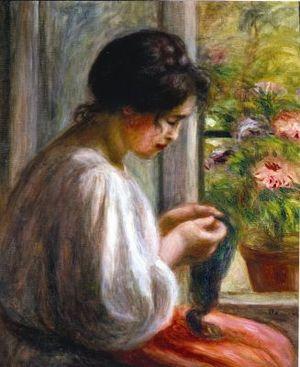 Renoir's'Seamstress at the Window'