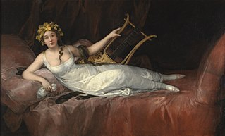 portrait de la marquise de Santa Cruz