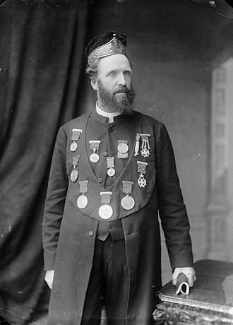 Archdruid - Image: Revd John Cadvan Davies (Cadvan, 1846 1923) NLW3364602
