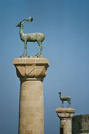 تاريخية رودس اليونانية