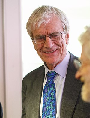 Richard Lambert - Lambert at the FT Economists' Christmas Drinks Reception in 2015.