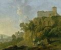 Richard Wilson (1713-1714-1782) - A Convent on a Rock - 446714 - National Trust.jpg