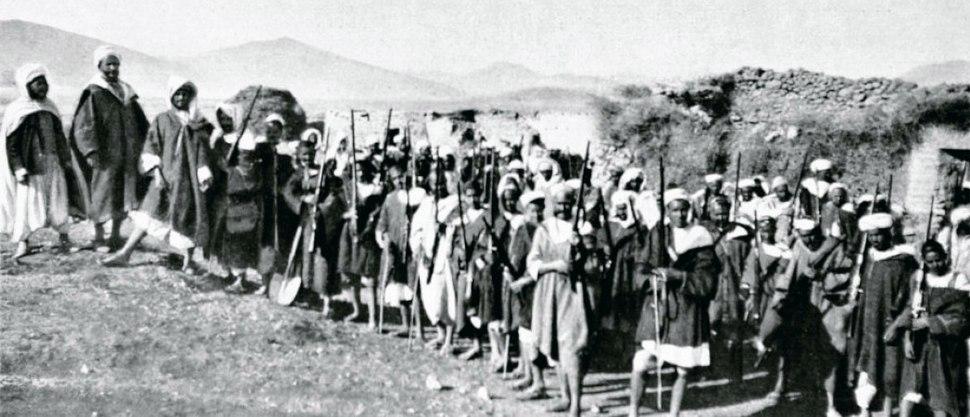 Riffian rebels during the Rif War 1922