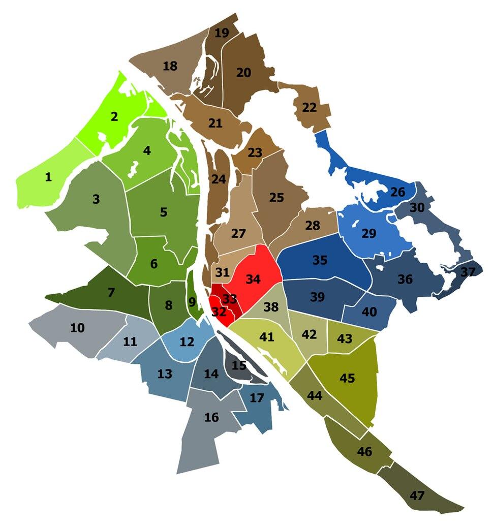 Райони на Рига