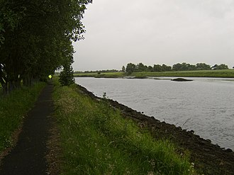 River Cart - River Cart, looking south