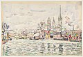 River scene- Rouen MET DP812195.jpg