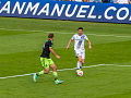 Robbie Keane on the ball vs Seattle Sounders.jpg