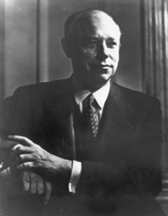 Robert A. Taft - Official portrait of Senator Robert A. Taft