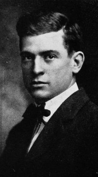 Robert Burch (American football) - Burch pictured in The Cincinnatian 1912, Cincinnati yearbook