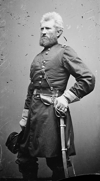 9th Indiana Infantry Regiment - Robert H. Milroy after his promotion to Brigadier General