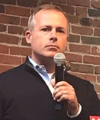 Ohio State Treasurer - Image: Robert Sprague 2018 rally (cropped 2)