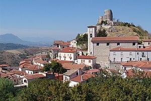 Rocca San Felice - Image: Rocca S. Felice, panorama