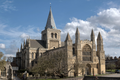 Rochester Cathedral northwest view (recadré).png
