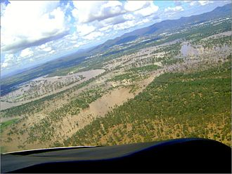Fitzroy River (Queensland) - Image: Rockhampton in flood 2