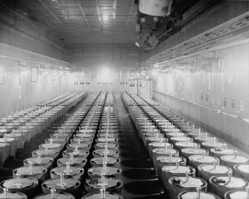 , plutonium manufacturing facility, North-cent...