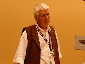 Roger Dean (artist) - Dean at Dragon Con in 2008.