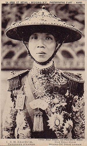 Khải Định - Image: Roi Khai Dinh