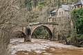 Roman Bridge over Dourdou River in Conques 08.jpg