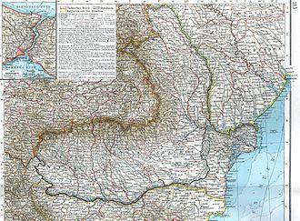 Romanian Old Kingdom - Image: Romania 1901