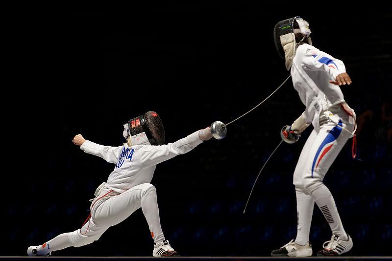 File:Romania v France EFS 2013 Fencing WCH t163933.jpg