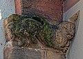 Romanische Reliefs am Portal erinnern an die Ursprünge der Stadtkirche St. Marien in Gengenbach. 03.jpg