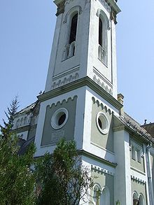 Romano-catholic church in Beclean2.JPG