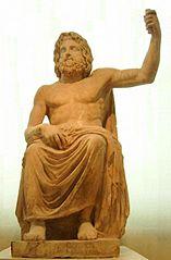 Zeus na tronie