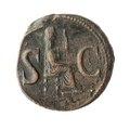 Romerskt kopparmynt, 14-15 - Skoklosters slott - 100199.tif