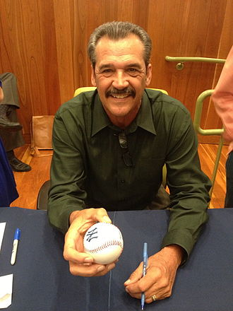Ron Guidry - Ron Guidry autographing a baseball at the Yogi Berra Museum and Learning Center on May 12, 2013