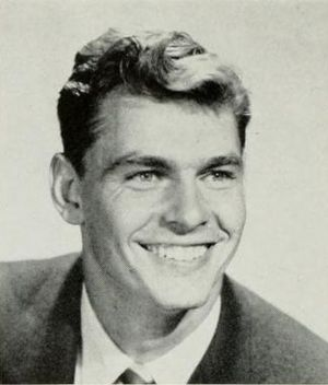Ronnie Knox - Knox from 1956 UCLA yearbook