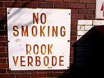 Rook Verbode Sign.JPG