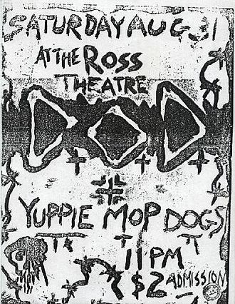 Nine Pound Hammer - Yuppie Mop Dogs at Ross Theater, Evansville, August 1985