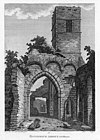 Rosserk Abbey, Co. Mayo, 1791