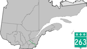 Image illustrative de l'article Route 263 (Québec)