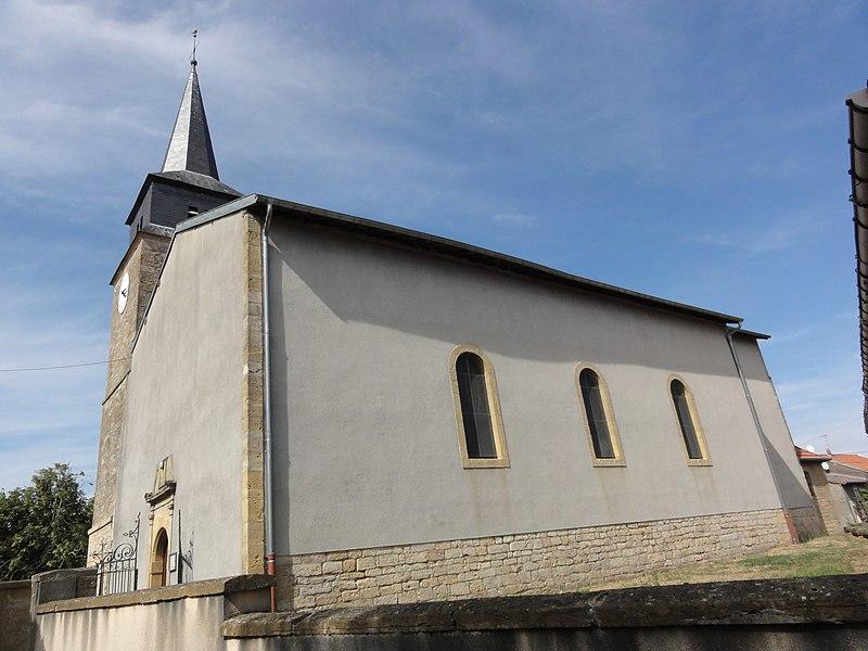 Rouvrois-sur-Othain (Meuse) église