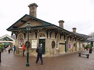 Rowsley - The original Rowsley railway station