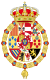 Royal Coat of Arms of Spain (1761-1868 and 1874-1931) Golden Fleece Variant.svg