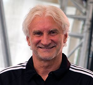 Rudi Völler - Völler with Leverkusen in 2014.