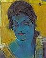 Rudolf Heinisch, Blaues Mädchen, um 1925.jpeg