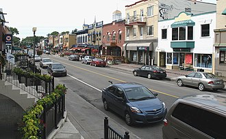 Sillery, Quebec City - Commercial Maguire Street (avenue Maguire)