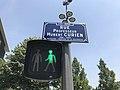 Rue Professeur-Hubert-Curien plaque.jpg