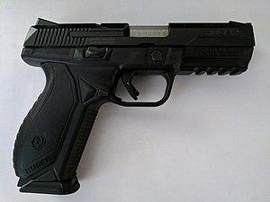 Ruger American Pistol - Image: Ruger American 9mm