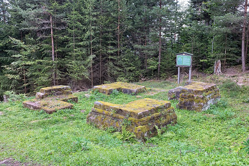 File:Ruine Königswart - Fundamente.jpg