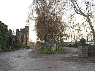 Akebar Township and civil parish in North Yorkshire, England