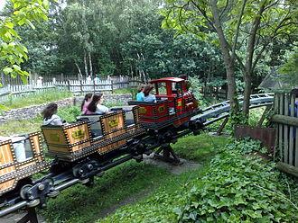 Runaway Mine Train (Alton Towers) - Image: Runaway Mine Train (Alton Towers) 01