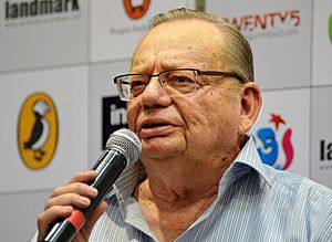 Ruskin Bond - Ruskin Bond at a book release function in Bangalore (6 June 2012)