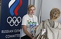 Russian Olympic Committee stand at the Russia House (7741307984).jpg