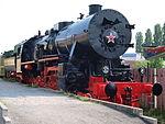 Russian steam loc at Technikmuseum Speyer, Germany.JPG