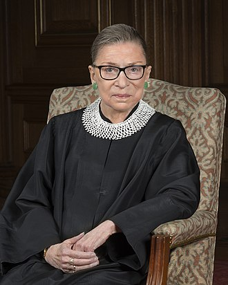 Associate Justice of the Supreme Court of the United States - Image: Ruth Bader Ginsburg 2016 portrait